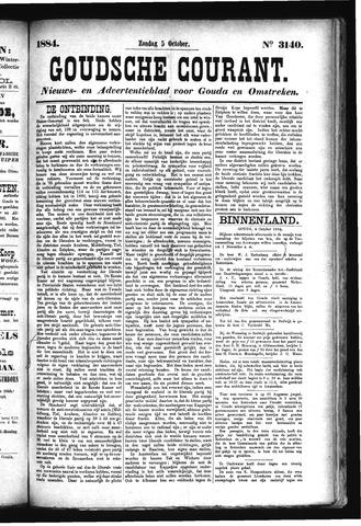 Goudsche Courant 1884-10-05