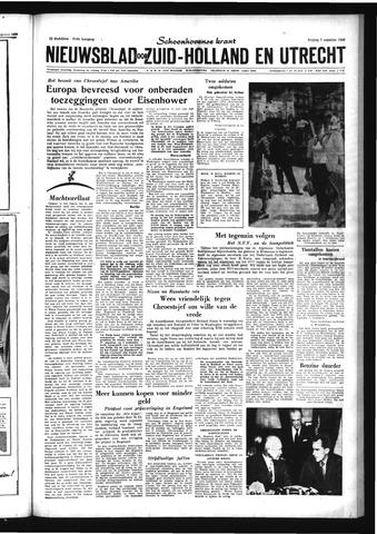 Schoonhovensche Courant 1959-08-07