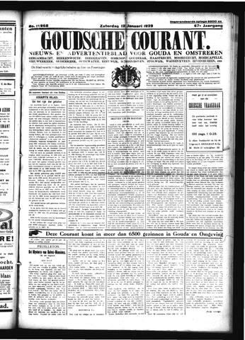 Goudsche Courant 1929-01-12