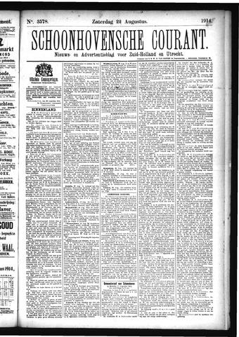 Schoonhovensche Courant 1914-08-22