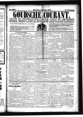 Goudsche Courant 1929-01-14