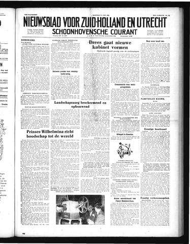 Schoonhovensche Courant 1952-06-30