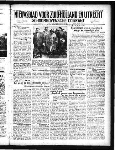 Schoonhovensche Courant 1949-05-25