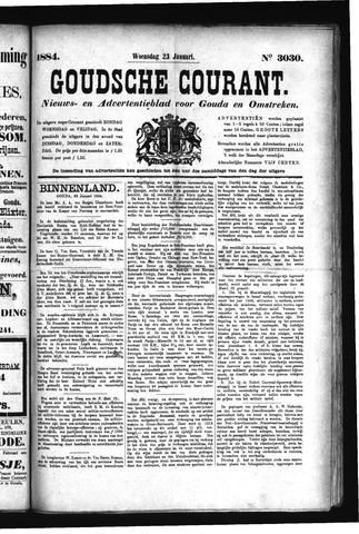 Goudsche Courant 1884-01-23