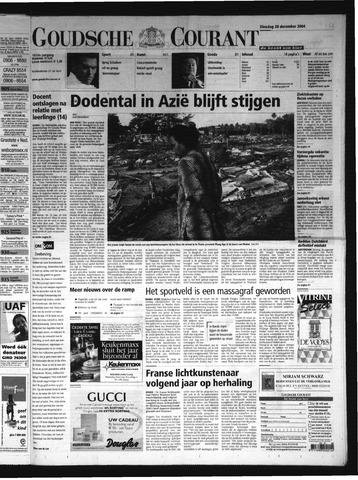 Goudsche Courant 2004-12-28