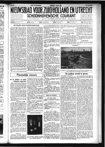 Schoonhovensche Courant 1934-03-07