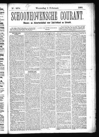Schoonhovensche Courant 1902-02-05