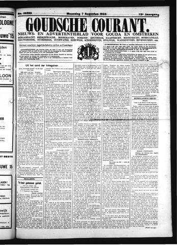 Goudsche Courant 1933-08-07