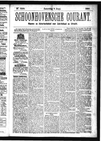 Schoonhovensche Courant 1900-06-09