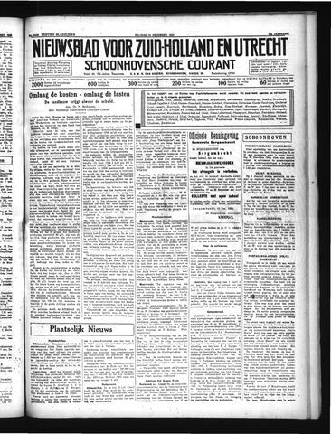 Schoonhovensche Courant 1934-12-14