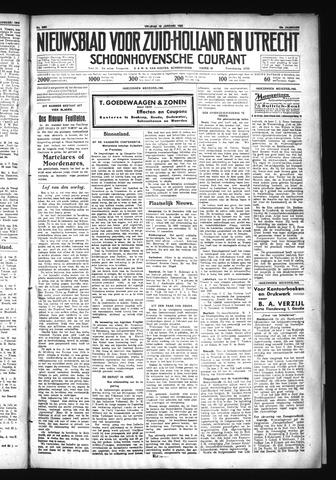 Schoonhovensche Courant 1930-01-10