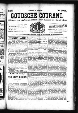 Goudsche Courant 1892-11-09