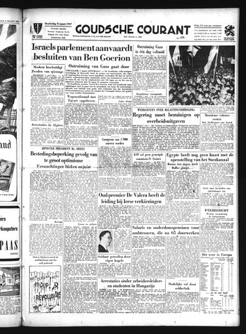 Goudsche Courant 1957-03-07