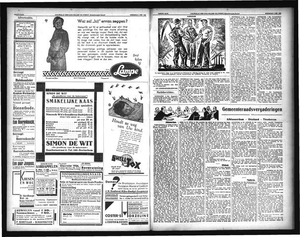 Schoonhovensche Courant 1933-01-01