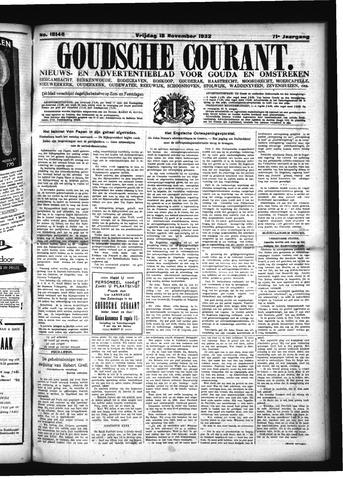 Goudsche Courant 1932-11-18