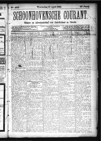 Schoonhovensche Courant 1921-04-27