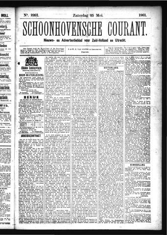 Schoonhovensche Courant 1901-05-25