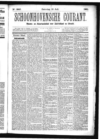 Schoonhovensche Courant 1908-07-25