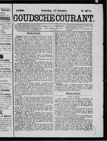 Goudsche Courant 1868-09-10