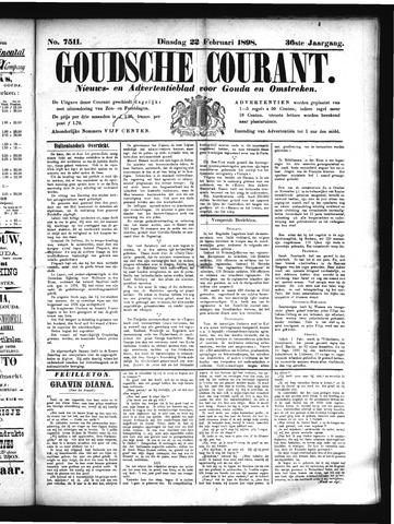 Goudsche Courant 1898-02-22
