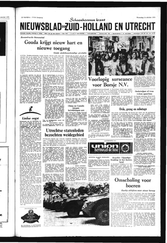 Schoonhovensche Courant 1970-10-14