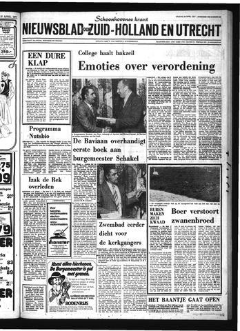 Schoonhovensche Courant 1977-04-29