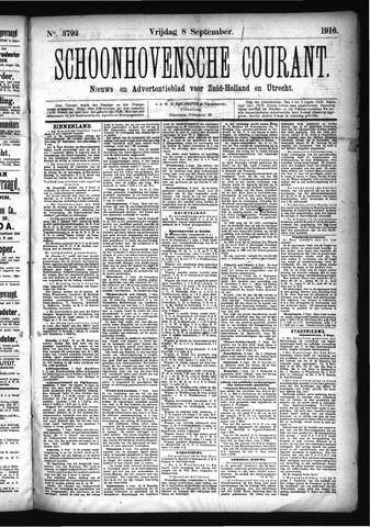 Schoonhovensche Courant 1916-09-08