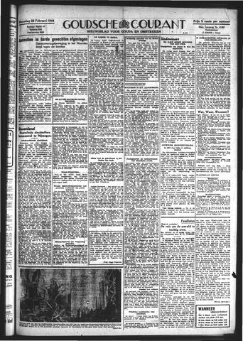 Goudsche Courant 1944-02-28