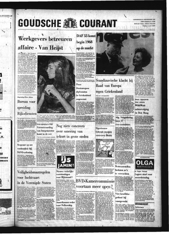 Goudsche Courant 1967-09-21