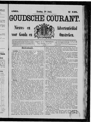Goudsche Courant 1863-06-28