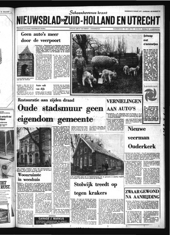Schoonhovensche Courant 1977-03-23