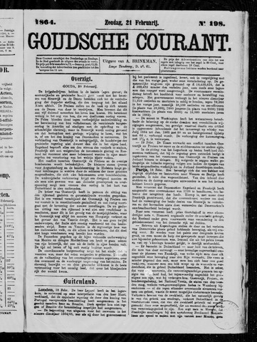 Goudsche Courant 1864-02-21