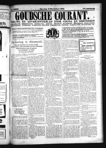 Goudsche Courant 1935-11-12
