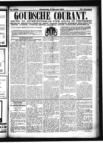 Goudsche Courant 1925-02-05