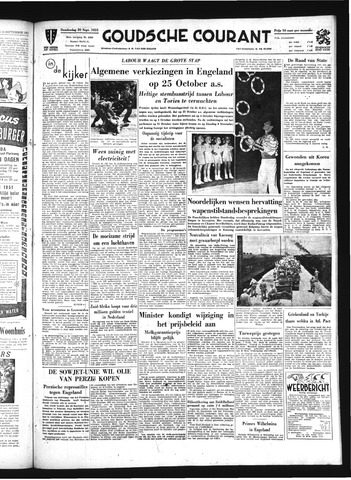 Goudsche Courant 1951-09-20
