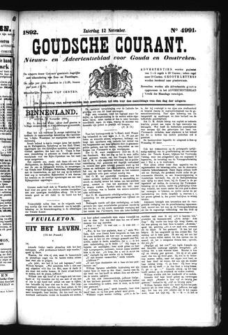 Goudsche Courant 1892-11-12
