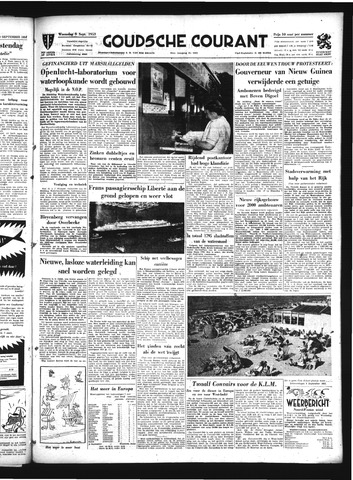 Goudsche Courant 1953-09-09