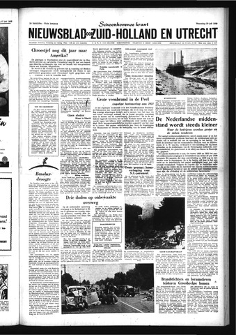 Schoonhovensche Courant 1959-07-29
