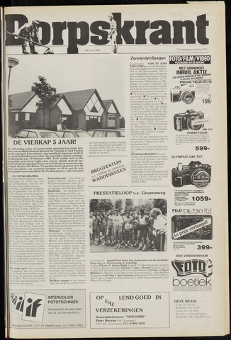 Dorpskrant 1988-06-22