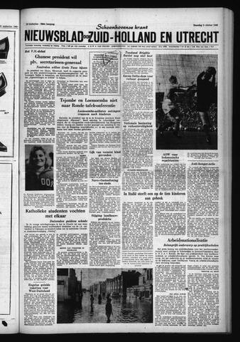 Schoonhovensche Courant 1960-10-03