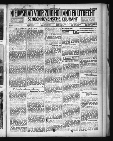 Schoonhovensche Courant 1936-07-01
