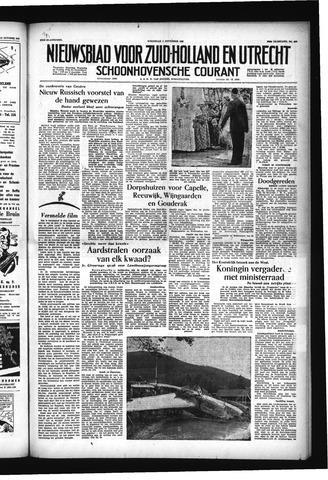 Schoonhovensche Courant 1955-11-02