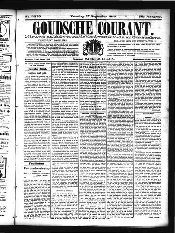 Goudsche Courant 1919-09-27