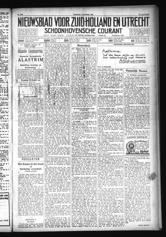 Schoonhovensche Courant 1929-10-14