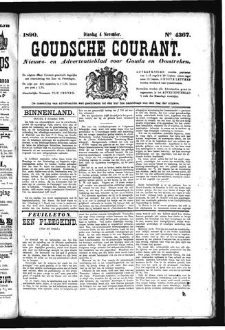 Goudsche Courant 1890-11-04