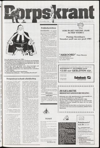Dorpskrant 1986-12-24