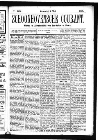 Schoonhovensche Courant 1903-05-02