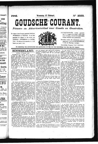 Goudsche Courant 1886-02-17
