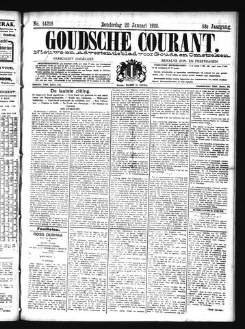 Goudsche Courant 1920-01-22