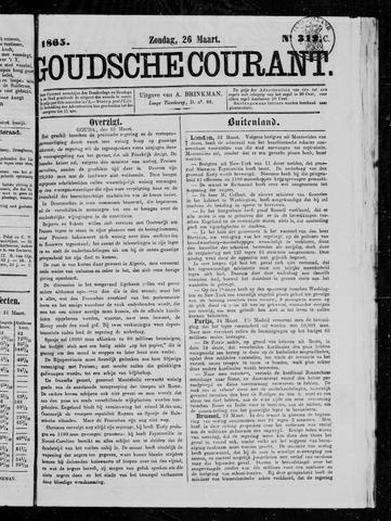 Goudsche Courant 1865-03-26